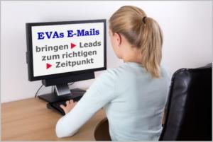 E-Mails von EVA bringen Leads zum richtigen Zeitpunkt
